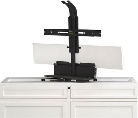 tv lift swivel tv lift cabinets with electric 360 degree swivel modern