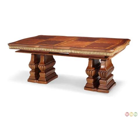 Michael Amini Dining Table by Michael Amini Cortina Traditional Rectangle Dining Table