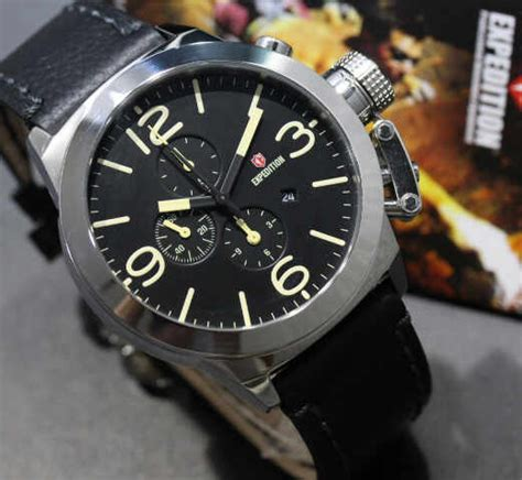 Expedition 6339 Black Leather jual expedition 6339 silver black leather punky store