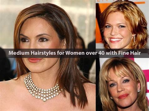 Medium Length Hairstyles For 40 by Medium Hairstyles For 40 With Hair