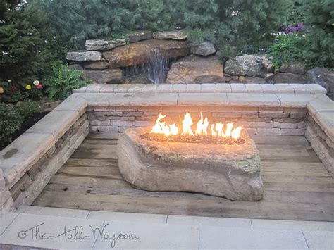 rocks for pit fireplace design ideas
