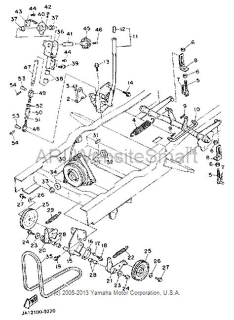 Yamahagenuineparts Com Yt3600 Drive Belt