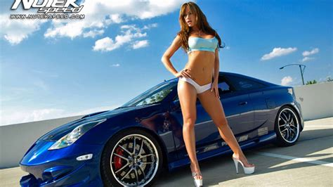 hot car themes cars girls hot girl with car wallpaper 23 l