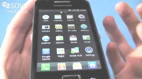 samsung themes download for galaxy ace samsung galaxy ace s5830 review youtube