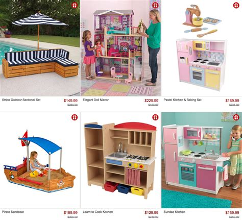 zulily houses kidkraft toy sale on zulily save on train tables kitchens doll houses more