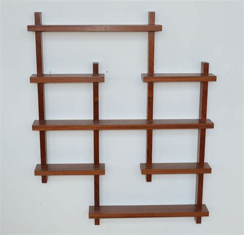 custom made wall shelves made mid century wall shelf by arboldesign