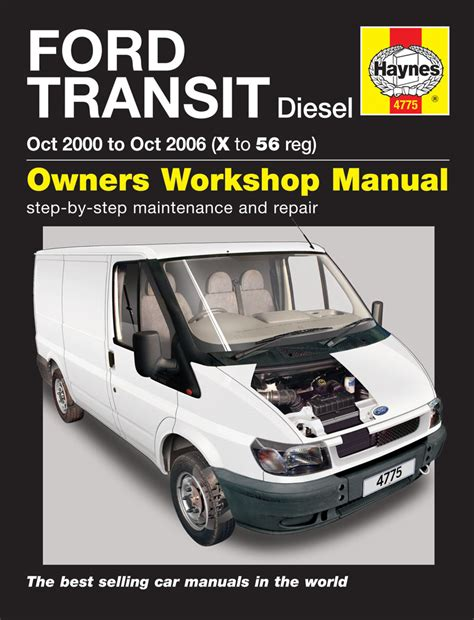 transmission control 1991 ford e series user handbook ford transit diesel oct 00 oct 06 x to 56 haynes