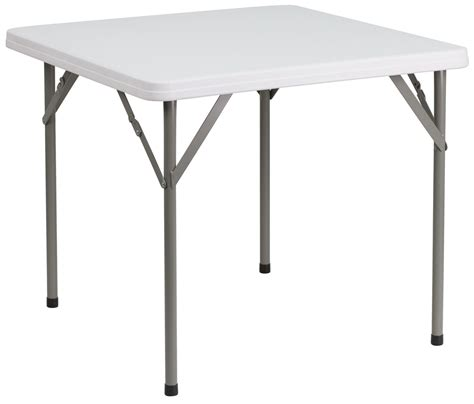 24 granite white plastic folding table 34 quot square granite white plastic folding table from