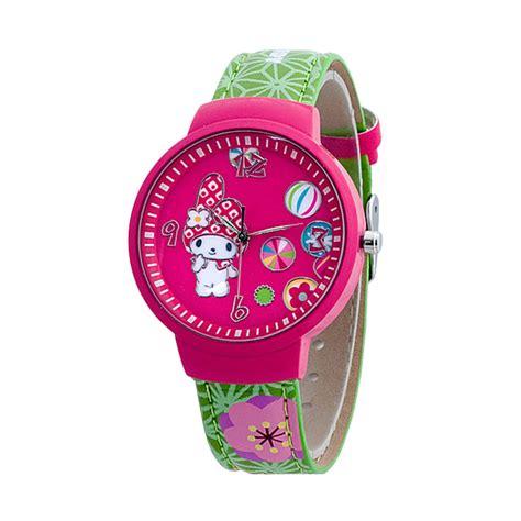 Harga Jam Tangan Quartz Perempuan jual hello mmdfr881 01a pink jam tangan anak