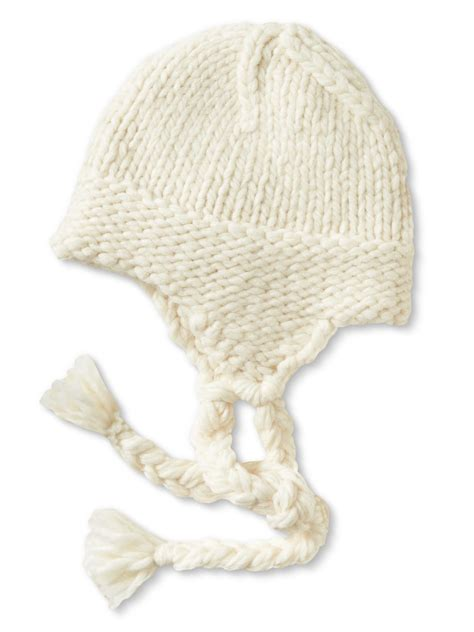 knit trapper hat banana republic knit trapper hat in white snow day