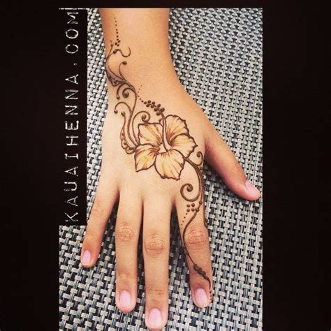 henna tattoo facts 11 best hibiscus images on