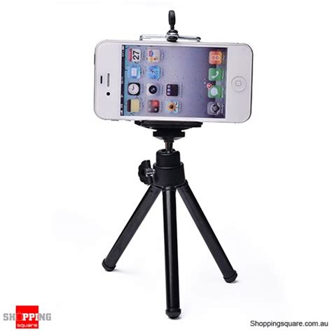 Promo Universal Mini Tripod Stand For Smartphone Np 71o B universal mini stand tripod mount holder for iphone 6 plus 6s plus 5s samsung galaxy black