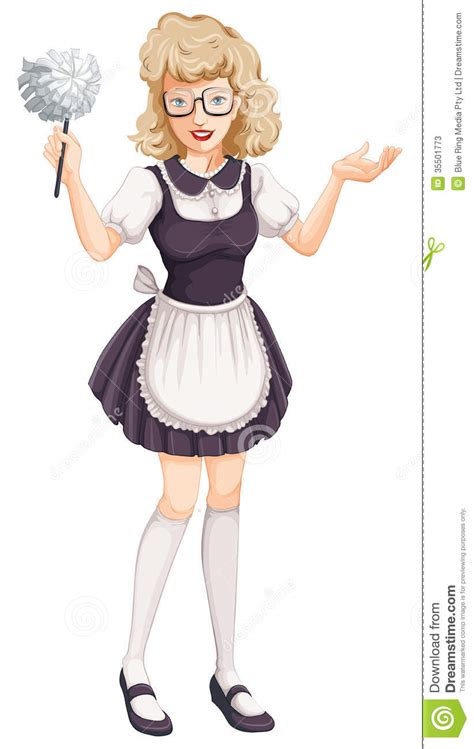 house maid a house maid stock photos image 35501773