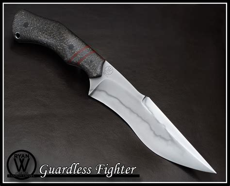fighter knives guardless fighter w knives