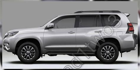 Toyota Prado Update 2018 Toyota Prado Facelift Leaked Update Photos 1 Of 8