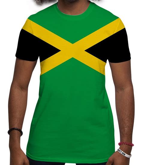 jamaica t shirt all print jamaican flag graphic tees