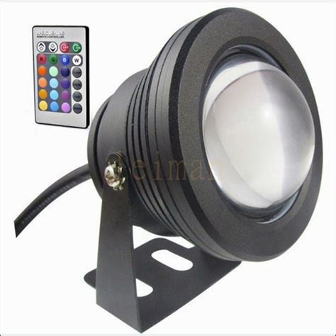 Lu Sorot Led Outdoor 10w 12v led floodlight underwater rgb led light waterproof ip65 outdoor lighting focos
