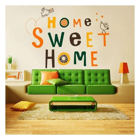 Wall Stiker Home Sweet Home decorative vinyl and sticker home sweet home