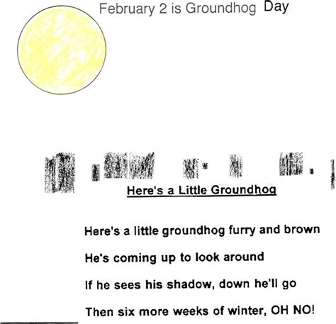 groundhog day poetry groundhog day poem shadows