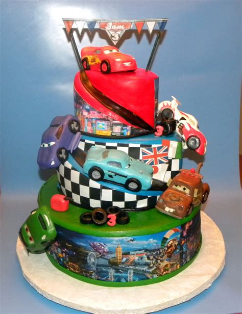 cars 2 cake cake decorating community cakes we bake