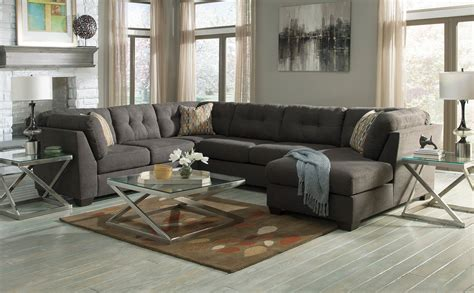 Family Room Sectional Sofas Furniture Cool Furniture Sectional Sofas Design With Grey Wooden Floor And Grey Wall For