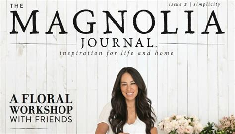 joanna gaines magazine calling all shiplap lovers chip and jo have a magazine now