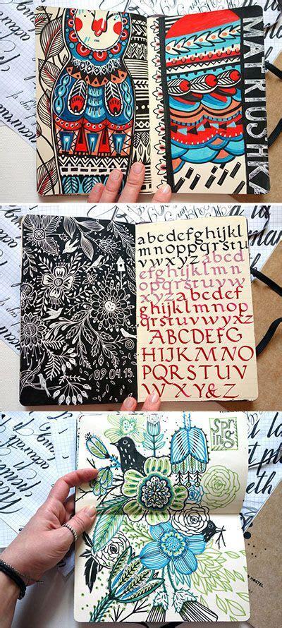 pattern sketchbook pages 1022 best art sketchbooks journals notebooks images on