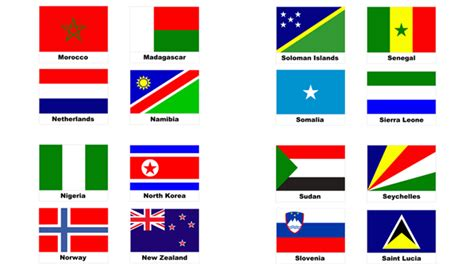 flags of the world pictures with names paperzip teaching resources 187 world flags geography