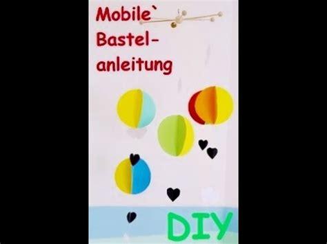 kinderzimmer deko ballon mobile ballon bastelanleitung kinderzimmer deko