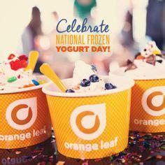 Orange Leaf Gift Card Value - frozen yogurt in the news on pinterest 10th birthday looney tunes and frozen