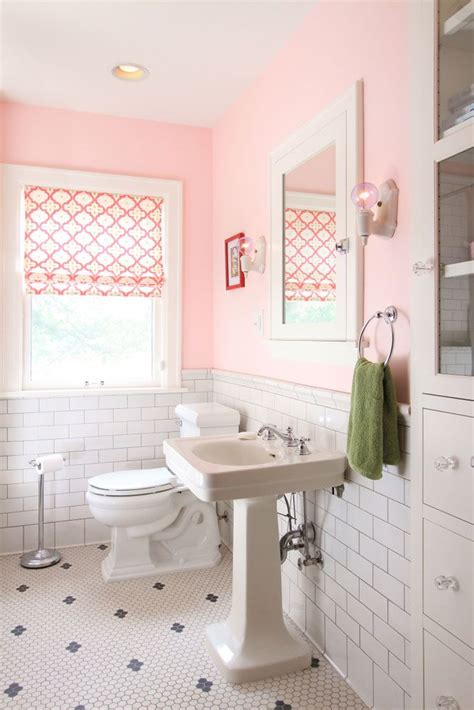 17 best ideas about pink bathroom vintage on cottage style pink bathrooms country