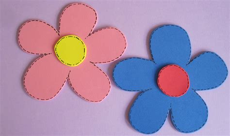imagenes de flores grandes de foami manualidades de primavera 6 imagenes educativas