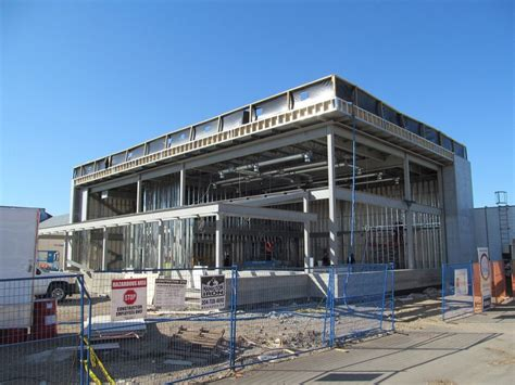 structural layout of industrial building burns maendel consulting engineers ltd commercial