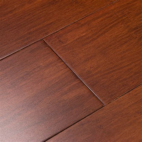 Shop Cali Bamboo Fossilized 5 in Cognac Bamboo Solid