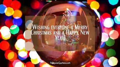 wishing   merry christmas   happy  year hoopoequotes