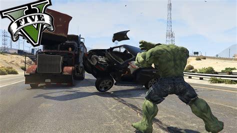 mod gta 5 pc hulk gta v pc mods el increible hulk llega a gta 5