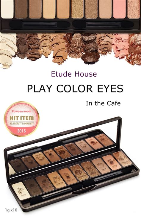 Etude House Play Color etude house play color in the cafe eye shadow