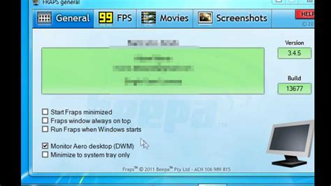 www fraps how to record your desktop with fraps 3 4 5 youtube