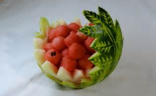 Decorative Watermelon Cutting by Watermelon Carved By J Pereira Carving Fruits And
