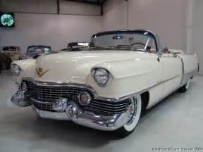 1954 Cadillac Eldorado Convertible 1954 Cadillac Eldorado Convertible Daniel Company