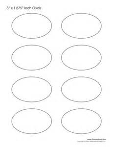 Free Printable Oval Template by Oval Templates Blank Shape Templates Free Printable Pdf