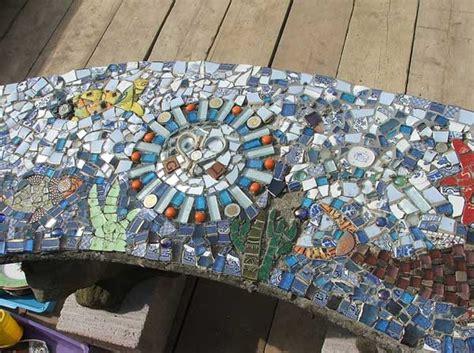 stunning mosaic projects   garden architecture