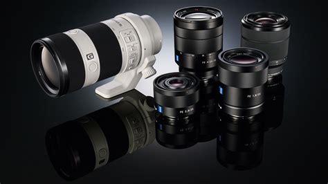 sony lenses sony unveils world s frame mirrorless cameras