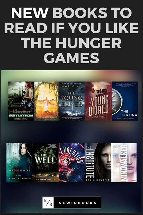 Bookstyle Read Like A by New Books To Read If You Like The Hunger Gamesnewinbooks