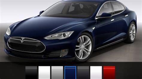 Tesla Colors Tesla Model S Reduces Colors With New Options Autoblog
