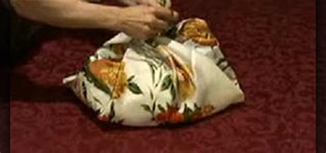how to make a furoshiki japanese grocery bag 171 eco friendly