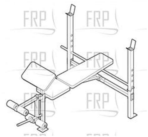 weider 525 weight bench weider 525 831 150631 fitness and exercise equipment