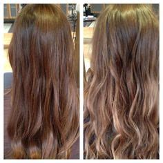 texture wave before and after balayage on pinterest balayage salons and highlighted hair