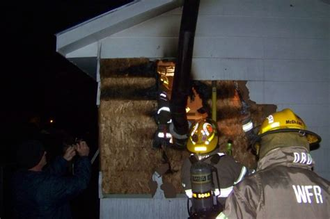wood burning stove damages waterloo garage