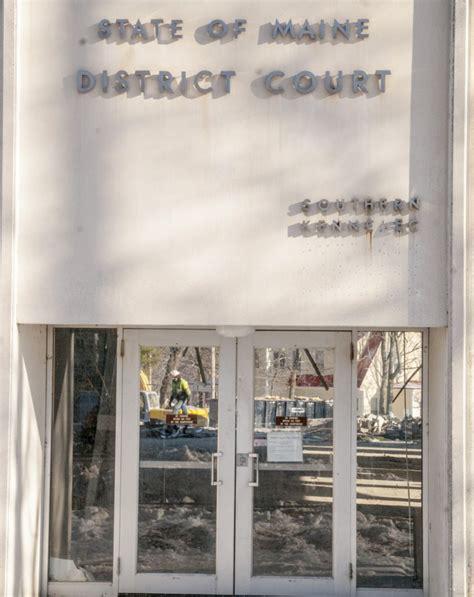 Maine District Court Records Augusta District Court Building Being Razed Centralmaine